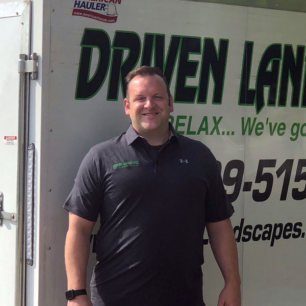 Josh Schultz, Owner of Driven Landscapes of Naperville, IL