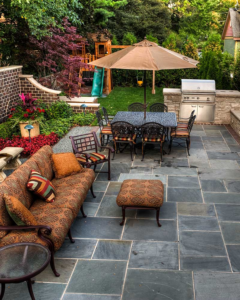 outdoor living hardscaping patios paths outdoor kitchens more